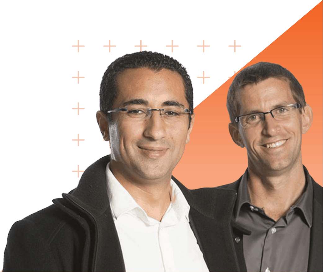 Amine et Stéphane, co-fondateurs d'Innov'ATM